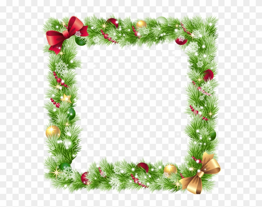 Christmas Photo Frame Templates Christmas Border Images Png Free