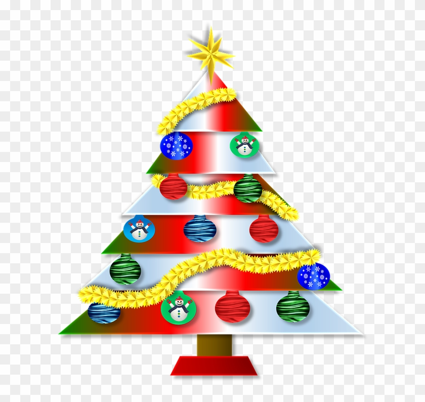 Christmas Day Clipart 10, - Merry Christmas Trees #431116
