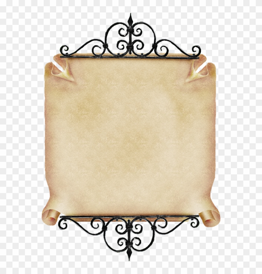 Antique Scrollimgs: Scroll Vintage Parchment Paper Png Hd