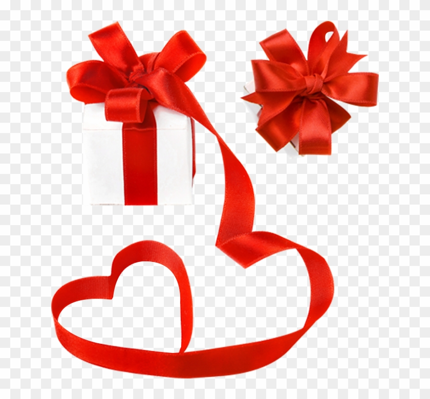 Gift Ribbon Valentines Day Decorative Box