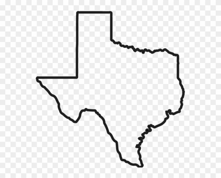 Texas outline high resolution. Free transparent png clipart