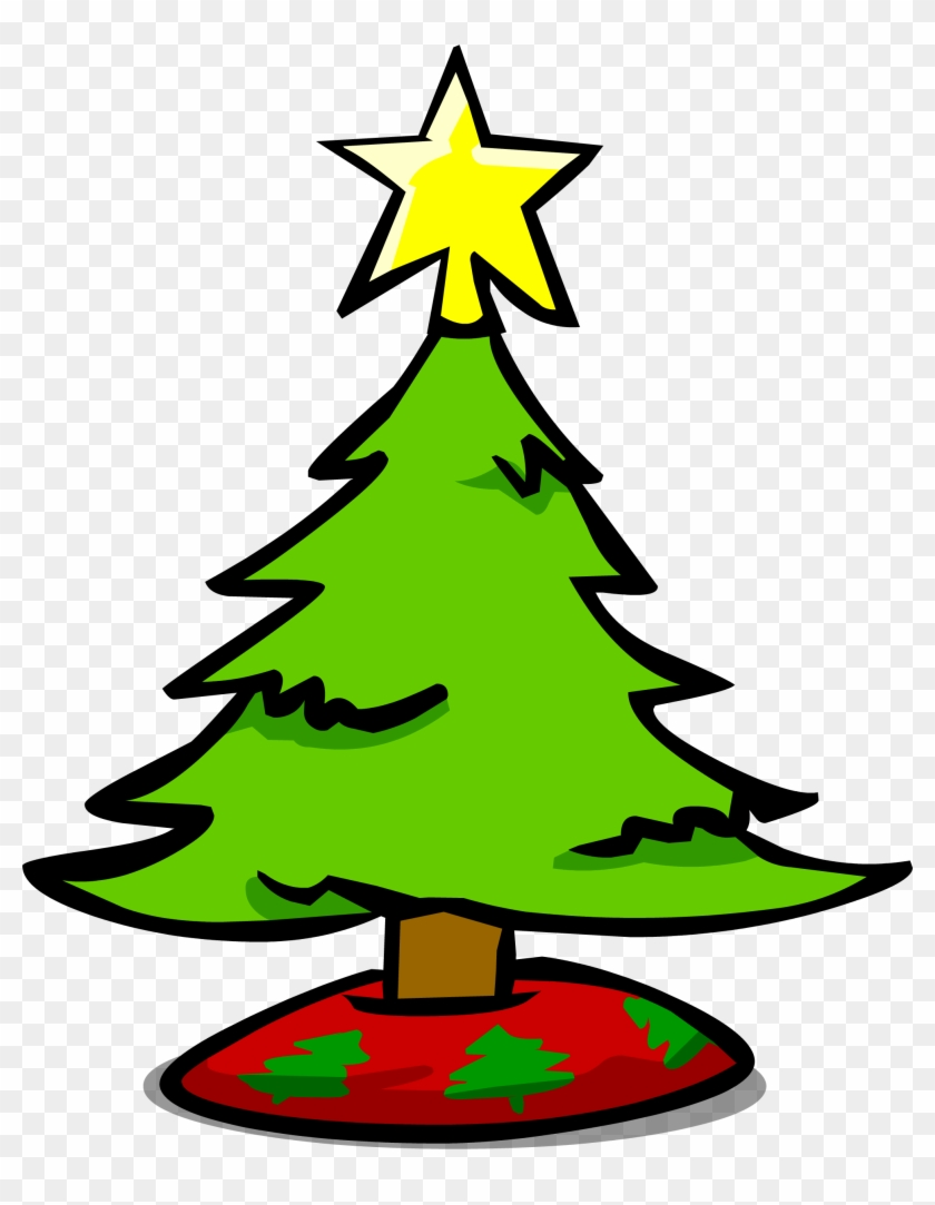 Small Christmas Tree Sprite 007 - Club Penguin #431303