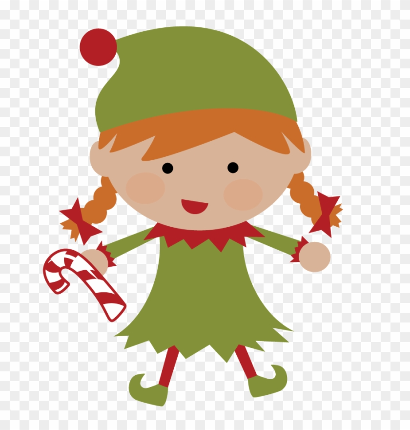 Elf Clipart - Elf - Cute Christmas Elf #431338