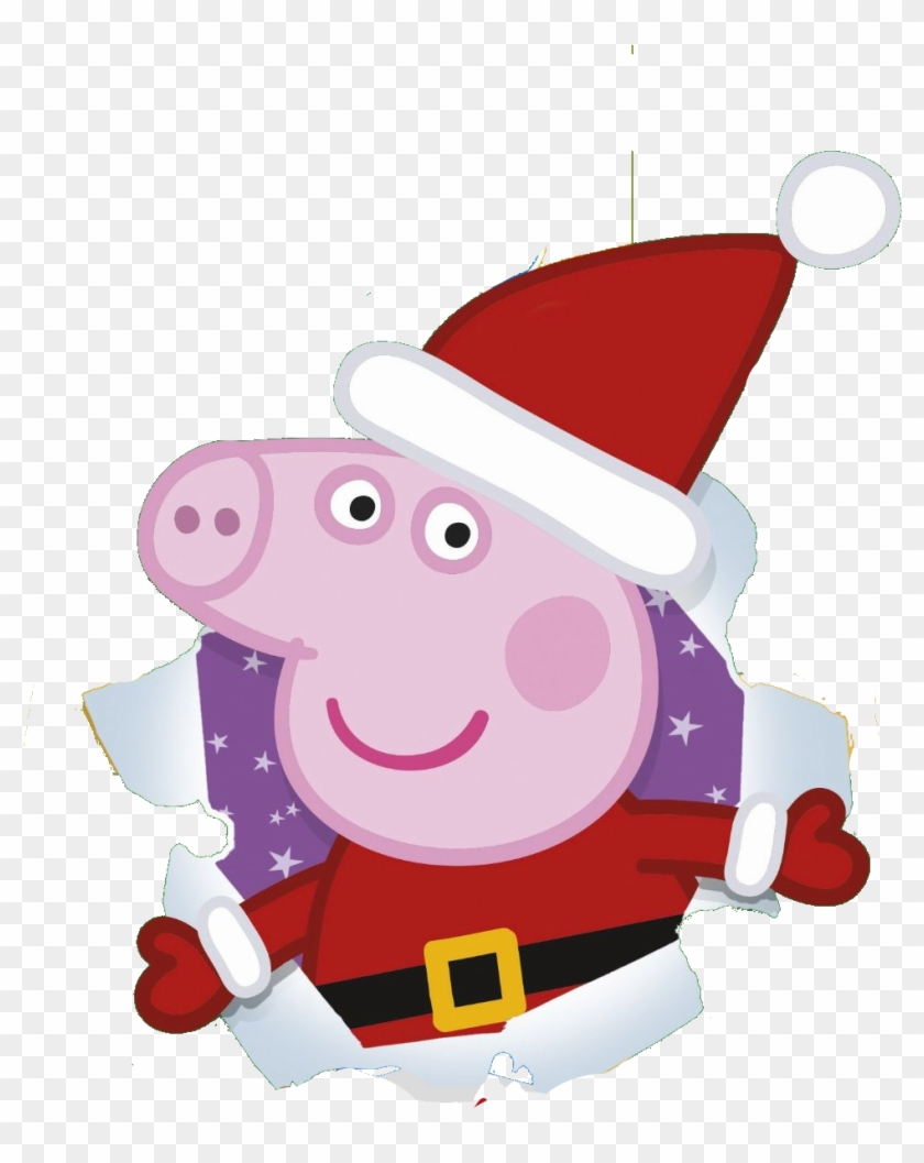 Merry Christmas Images Clip Art.Peppa Pig Christmas Clipart Black And White Peppa Pig