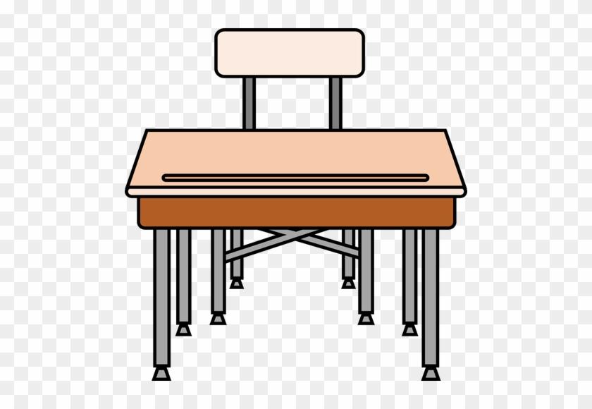 Desk Clipart Meja - School Desk Clipart #431716