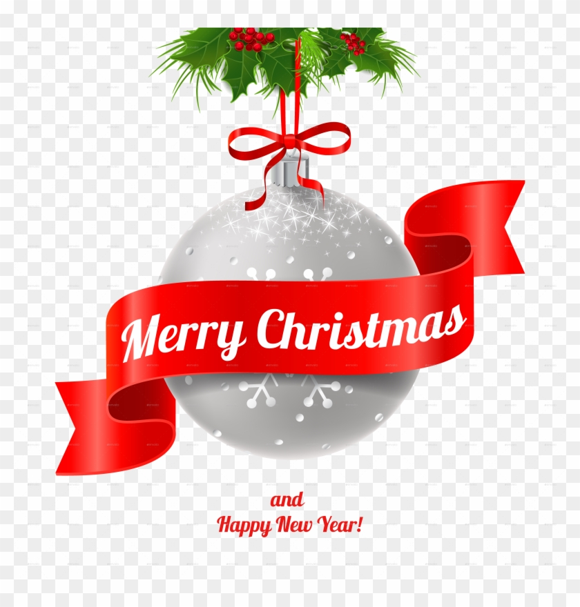 Merry Christmas And Happy New Year - Merry Christmas And Happy New Year Png #431882