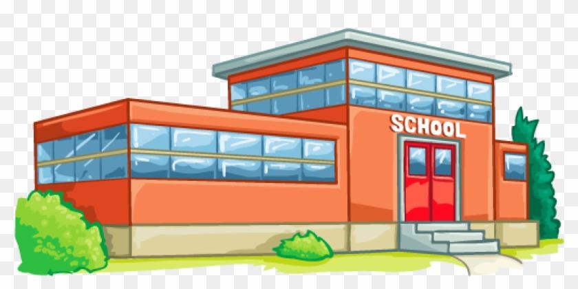 Item Detail - High School School Building Clipart #431929
