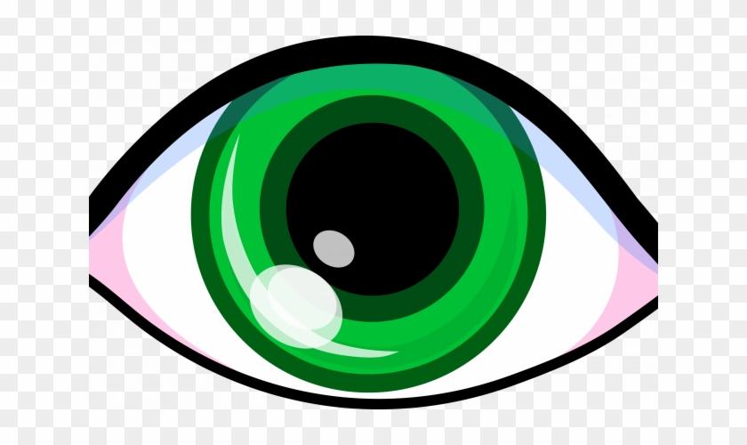 Cartoon Cat - Green Eye Clipart #432153