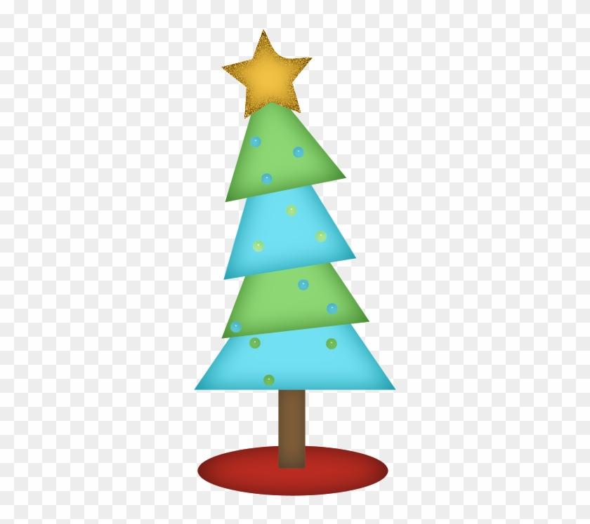Arbol De Navidad Con Estrella Y Esferas Png - Christmas Tree #432224
