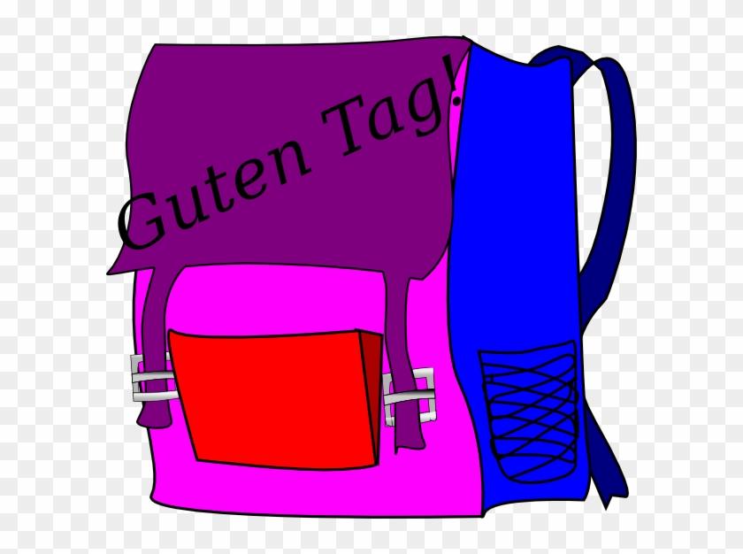School Bag Clip Art #432292