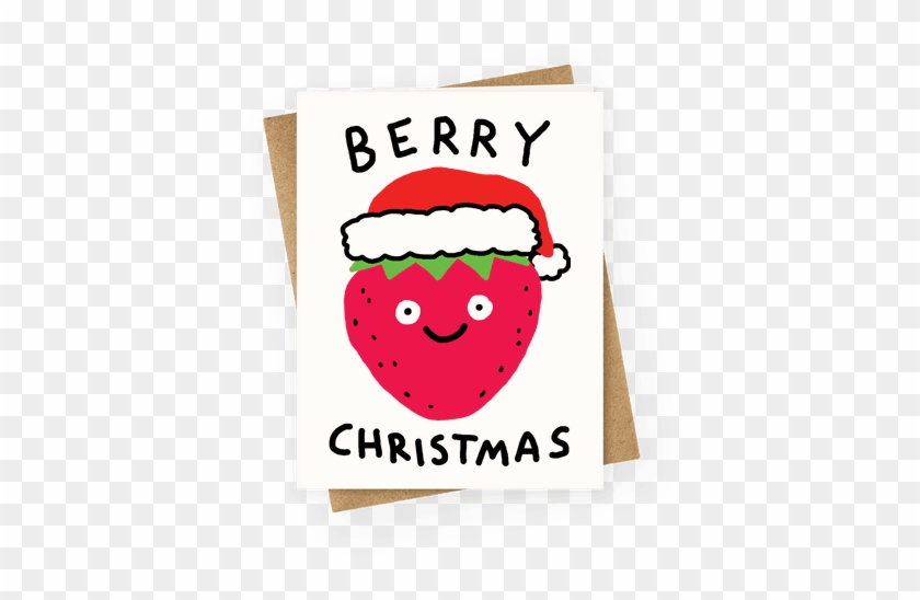 Berry Christmas Greeting Card - Berry