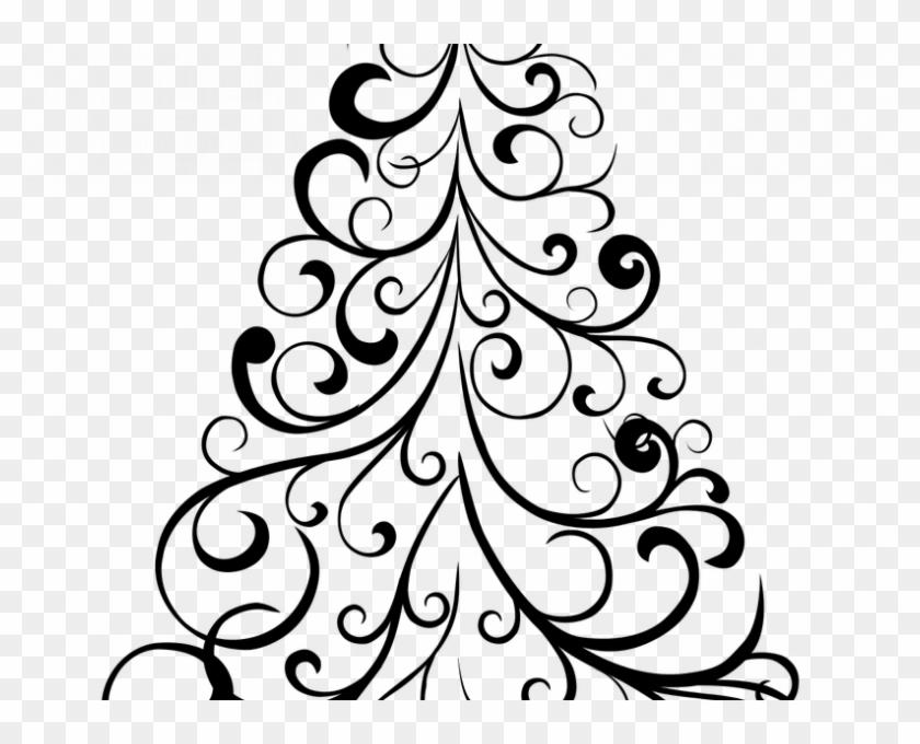 Free Printable Christmas Trees - Drawing #432908