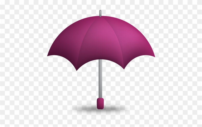 Purple Umbrella Icon - Umbrella Png Icons #433398