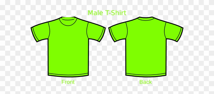 How To Set Use Lime Green Tshirt Svg Vector - Plain T Shirts Green #433974