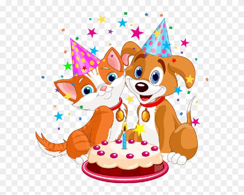 Cat And Dog Cartoon Pictures Cat And Dog Cartoon Pictures - Cat And Dog Birthday Cake #434728