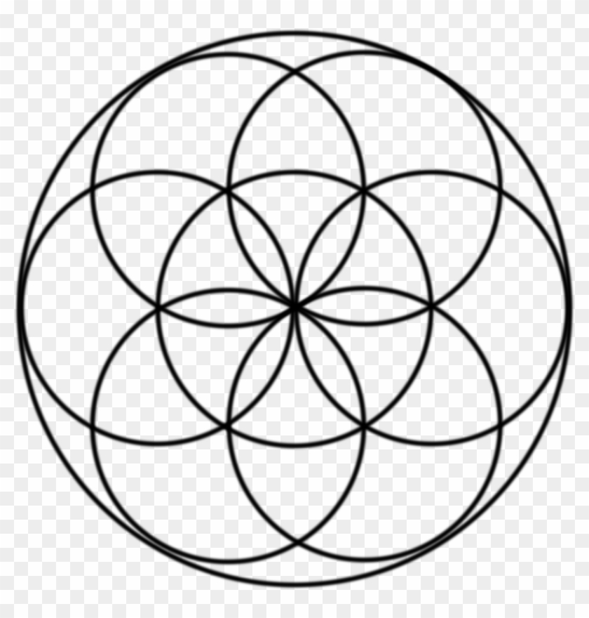 The Seed Of Life - Seed Of Life Symbol - Free Transparent PNG