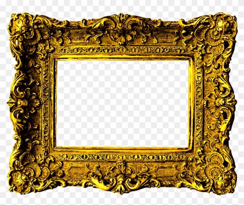 Beautiful Gold Victorian Frame By Jeanicebartzen27 - Gold Victorian Picture Frame #435294