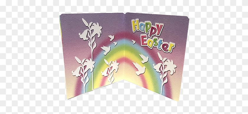 Palmer Easter Greeting Card With Chocolate Cross 1 - Chocolate #435413
