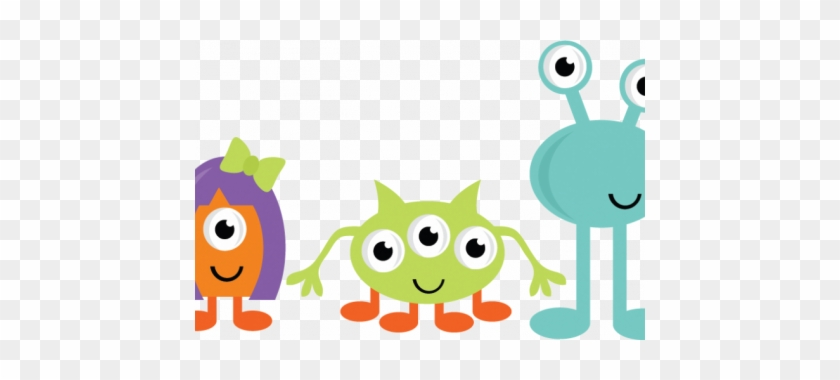 Monster Clipart Teacher - Halloween Monster Clipart #435765