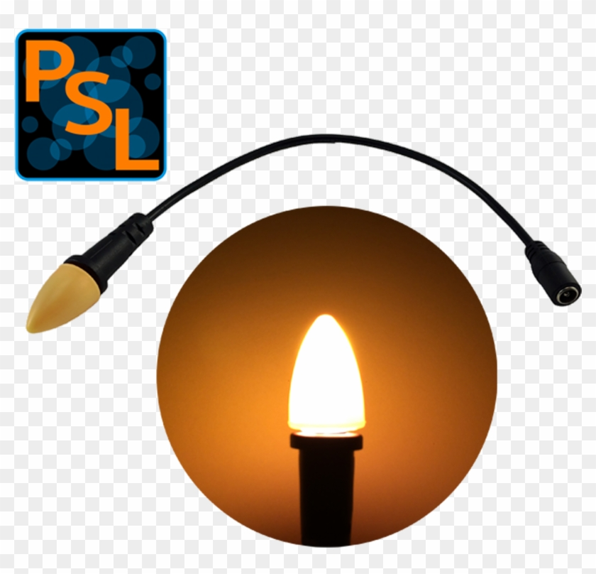 Eel Enhanced Effects Light 12 Volts Dc Led Giant Candle