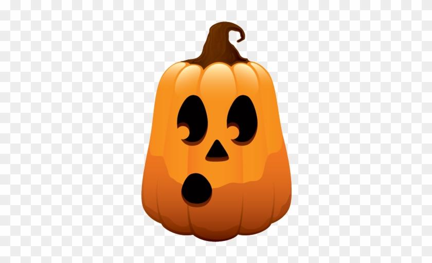 Sad Pumpkin Face Clipart - Long Face Pumpkin Carving #436295