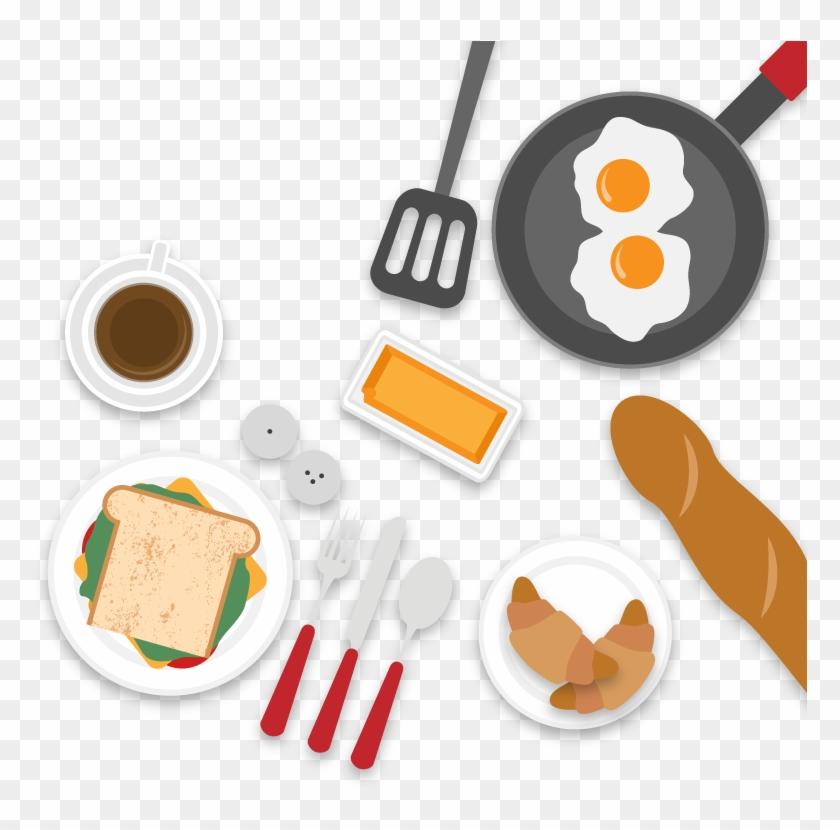 Coffee Breakfast Brunch Food Drink - Breakfast #437036