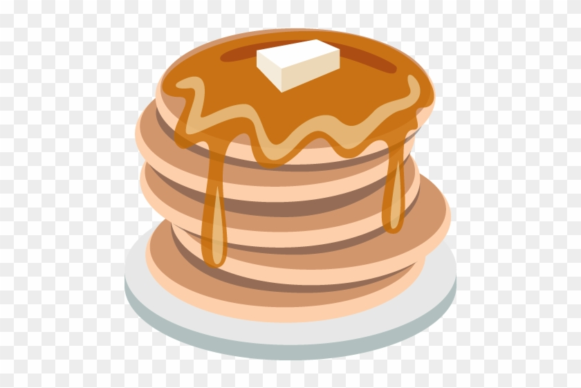 Pancakes Emoji Vector Icon - My Journal: Writing Emoji; Blank Lined Notebook #437090