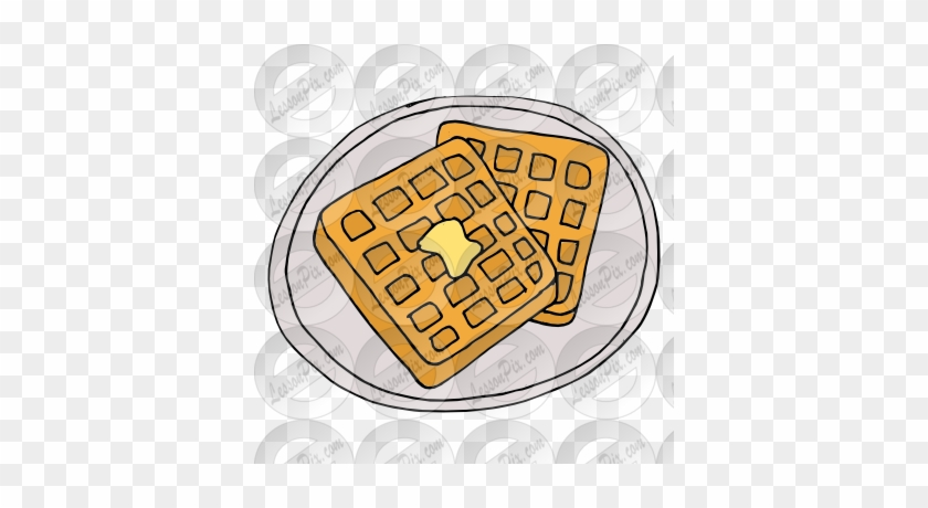 Waffle Breakfast Png Transparent Waffle Breakfast - Clipart Waffle Breakfast #437101