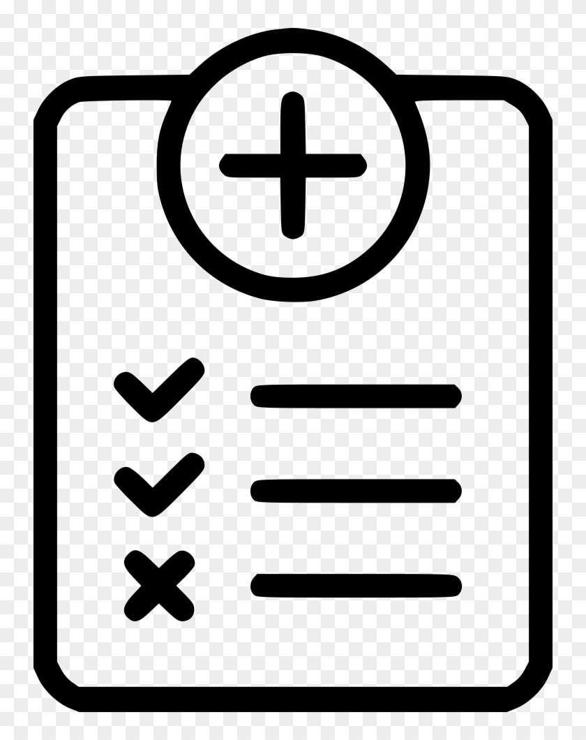 Questionnaire Symptoms Medical History Doctor Health - Medical Questionnaire Icon Png #437244