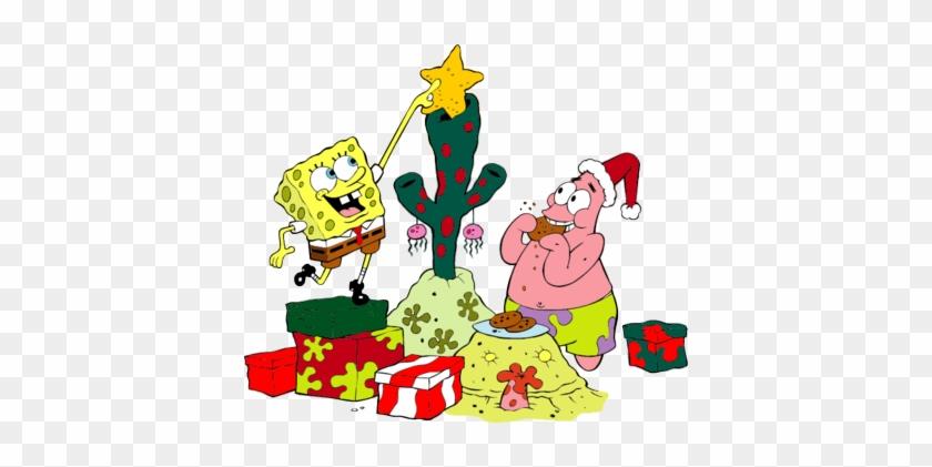 Spongebob Christmas.Spongebob And Patrick Spongebob And Patrick Christmas