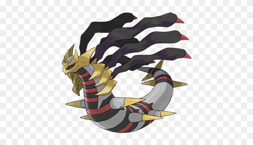 Pokémon With Ghost-type Alternate Formes - Giratina Origin Form Png #437766