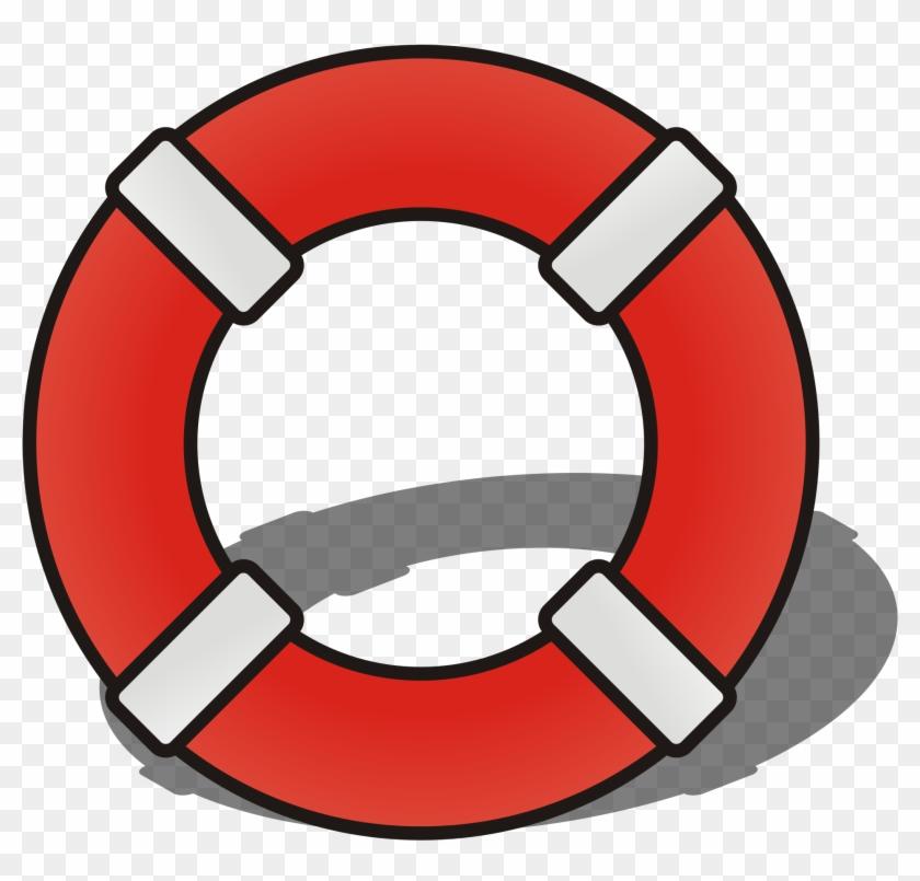 Sailor Clipart Life Preserver - Lifeguard Symbol #437985