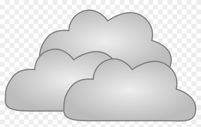 Snow Clouds Cliparts - Cumulus Cloud Clip Art - Free