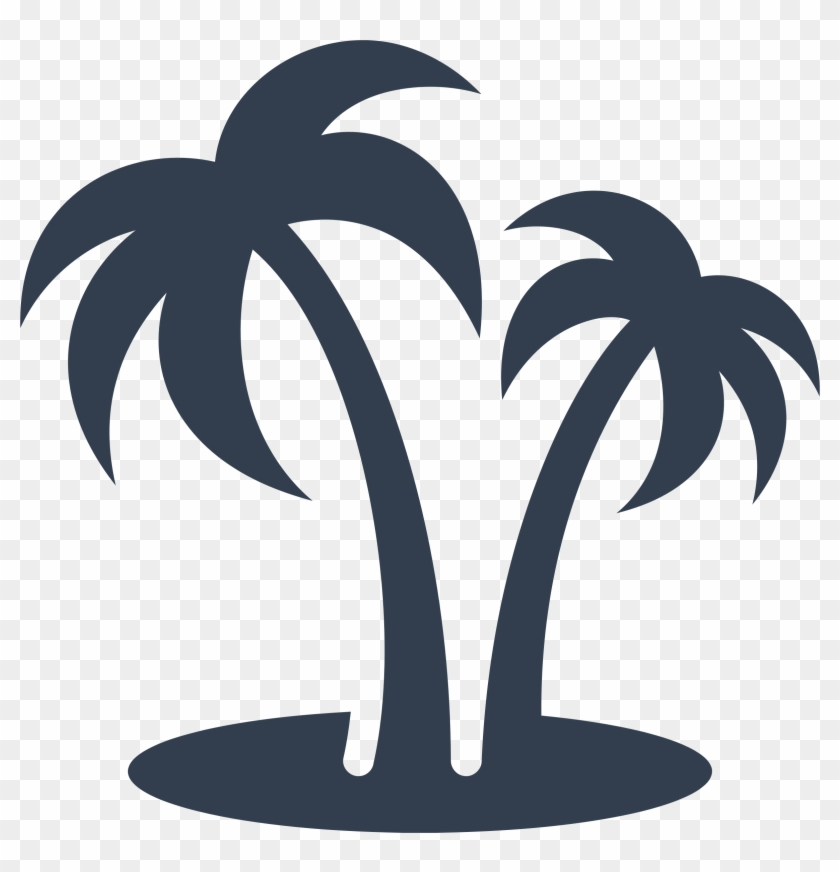 Big Image Palm Tree Clipart Black And White Free Transparent Png