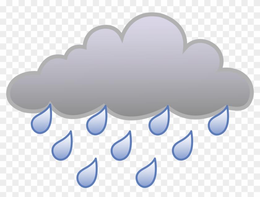 Rain Cloud Weather Symbol Rain Cloud Free Transparent Png