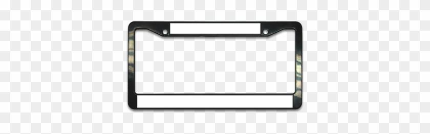 Black Plastic License Plate Frame - License Plate Frame - Free ...