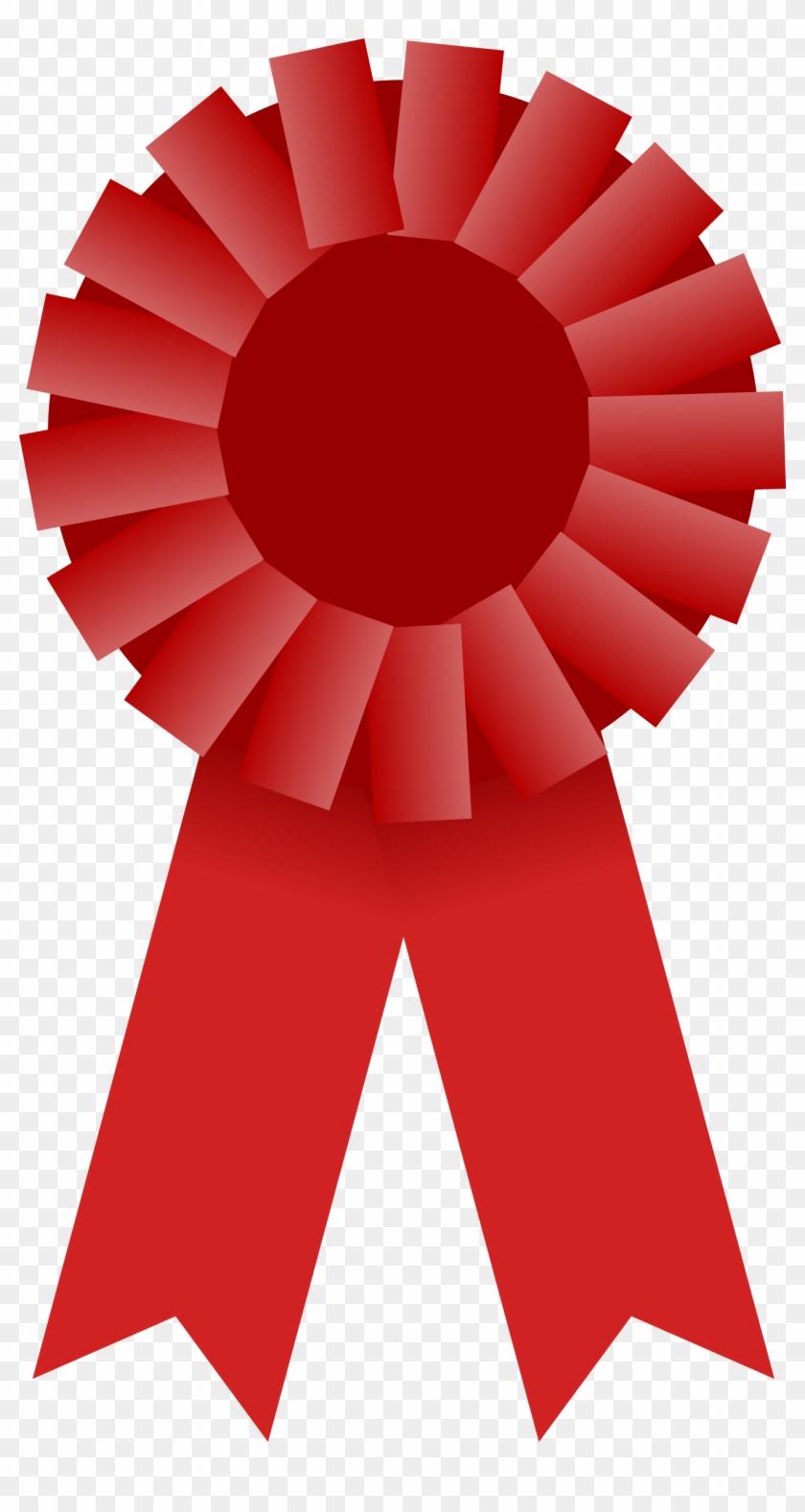 Award Ribbon Clipart Red #439072