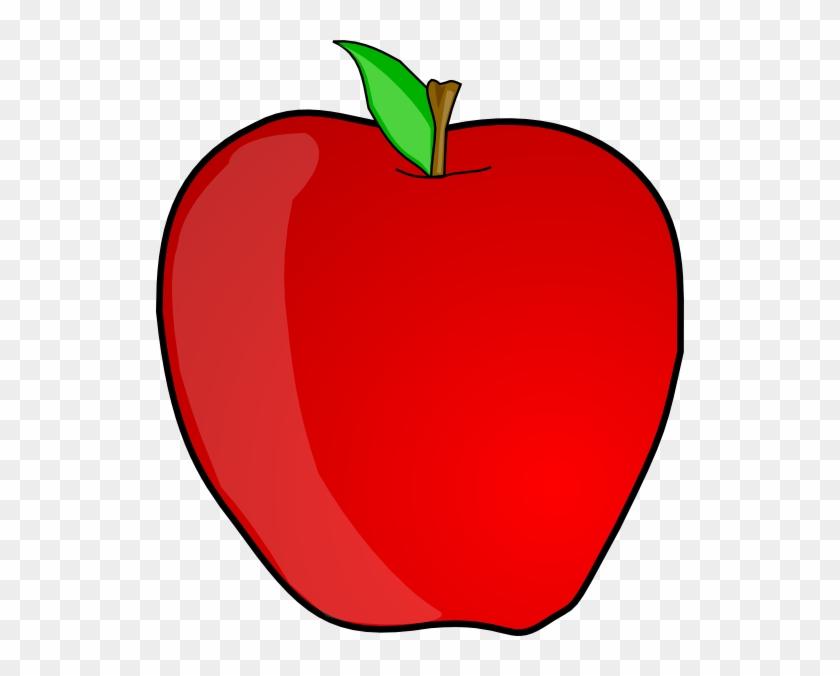 Bitten Red Apple Clipart Download - Apple Clip Art Public Domain #439115