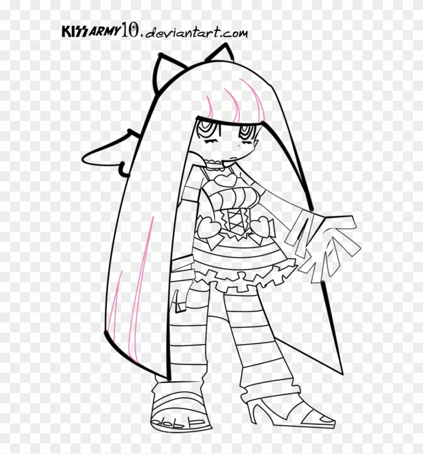 Panties 20clipart Clipart Panda - Panty And Stocking Coloring Pages #439164