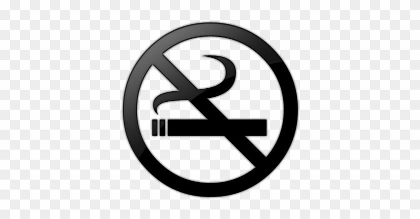 Clipart No Smoking Symbol Black