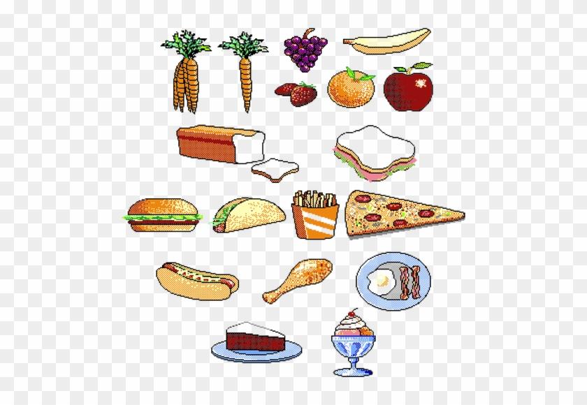 Diferentes Alimentos - Junk Food Clipart #439897