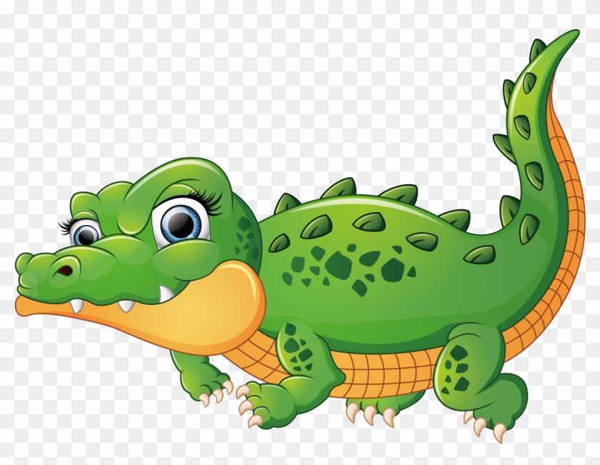 Crocodiles Alligator Illustration - Crocodile Cartoon Png #439924