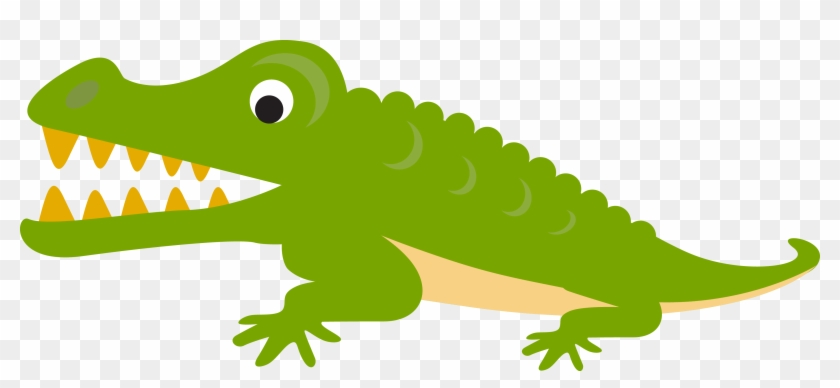 Alligator Crocodile Cartoon Illustration - Crocodile Cartoon Png #440202