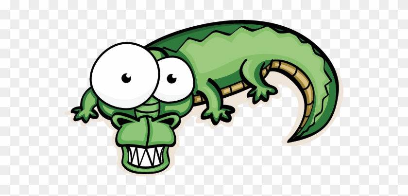Crocodiles, And Their Cousins The Alligator, Are Deeply - Googly Eyed Cartoon Animals #440414