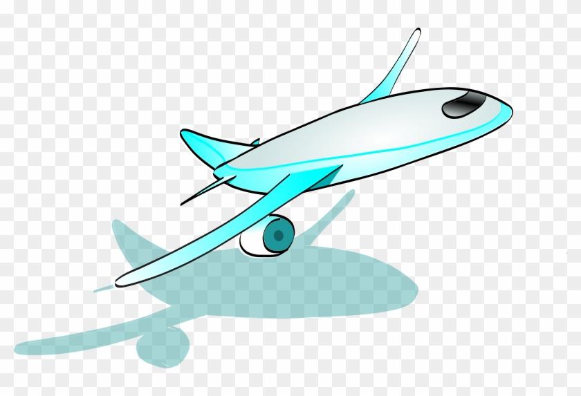 Medium Image - Cartoon Airplane Taking Off Gif #441174
