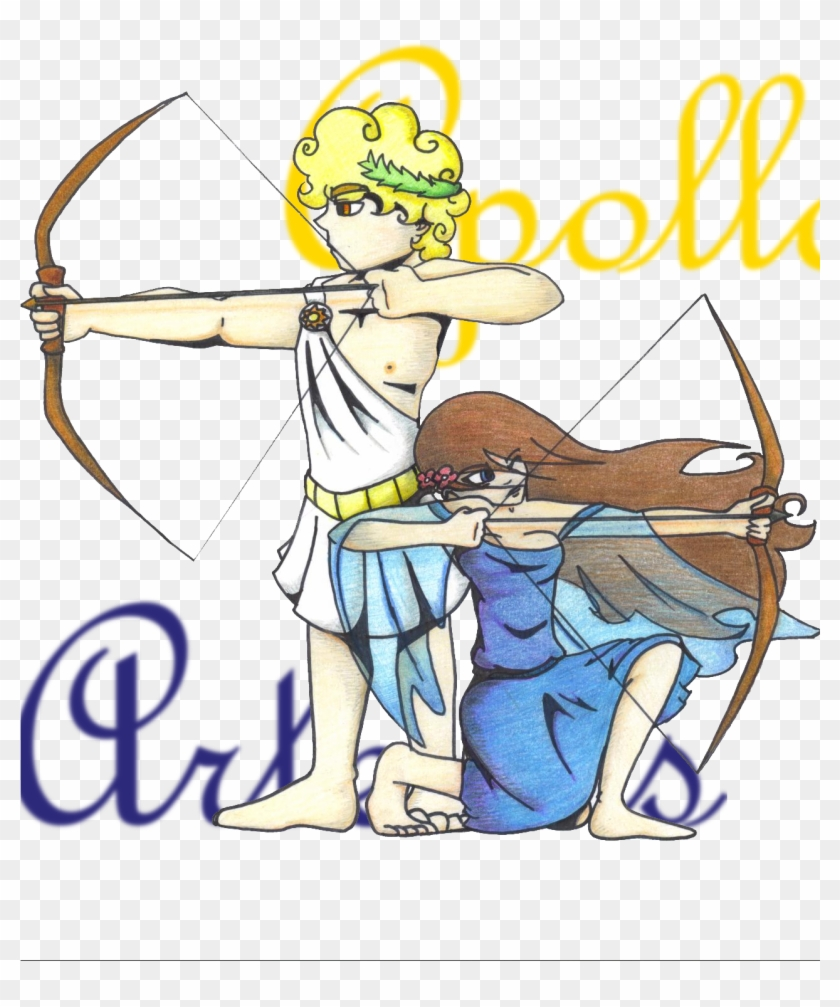 Allhailweegee Month Off - Apollo And Artemis The Greek Gods #441229