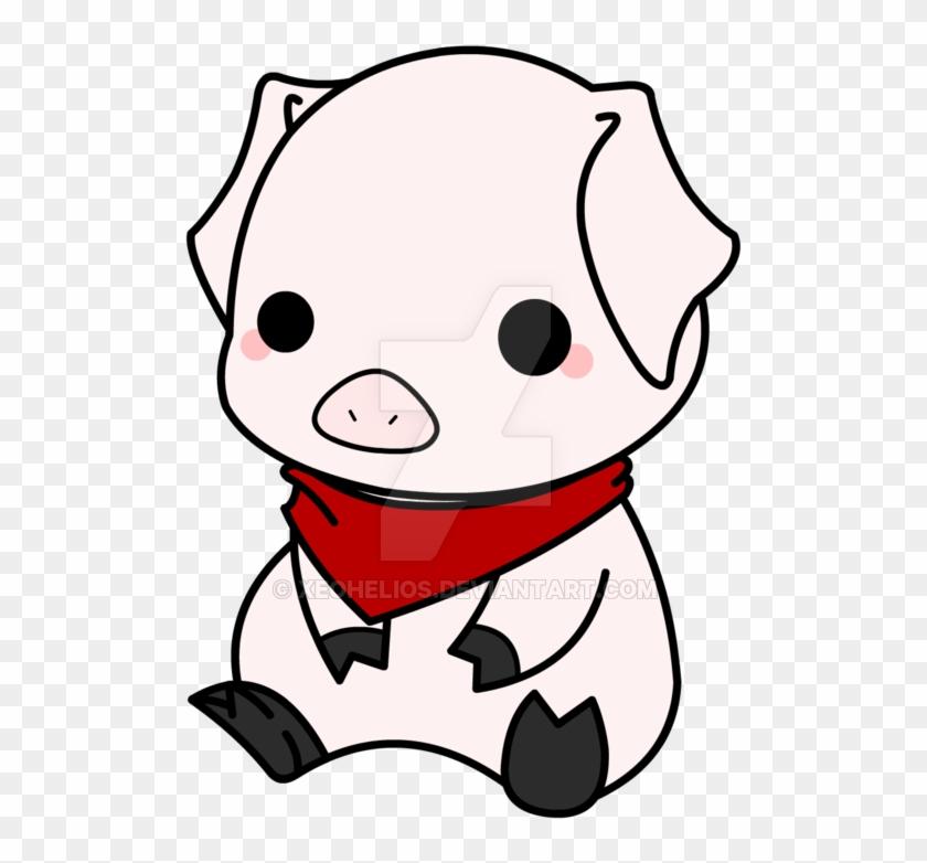 Cmsn - Draw A Anime Pig #441568