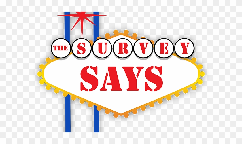 """One Of Our Tv Game Show Like Games Is Called """"survey"""