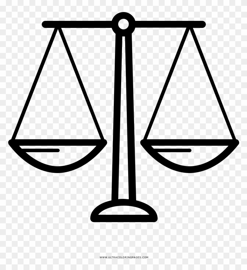 Astonishing Balance Scale Coloring Page Scales Ultra Bilancia - Balance-scale-coloring-page