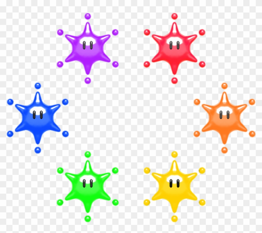 Big Paint Stars - Paper Mario Color Splash Big Paint Stars #442376